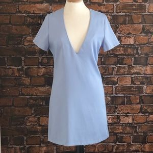 Tobi Deep V Mini Dress
